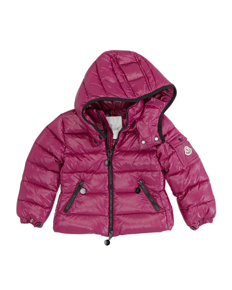 Bady Quilted Nylon Jacket, Cranberry, Sizes 2-6