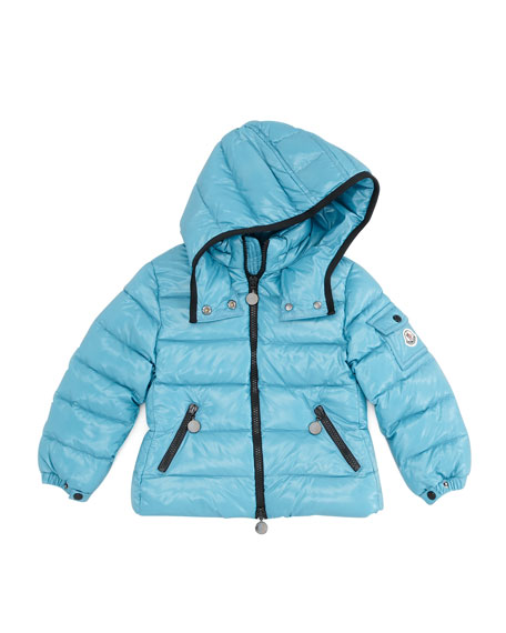 Bady Quilted Puffer Jacket, Blue, Sizes 8-10