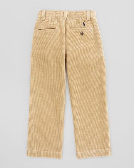 Preston Corduroy Pants, Khaki, Sizes 4-7