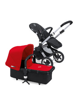 Bugaboo Buffalo Tailored Fabric Set, Red