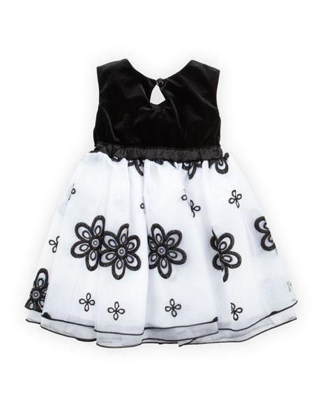 Twilight Twirls Dress, Black, 2T-4T