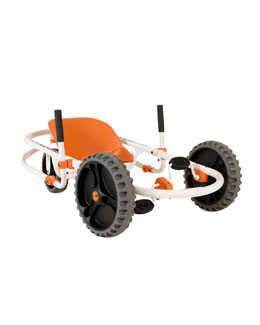 YBike Explorer Pedal-Power Go-Cart, Orange