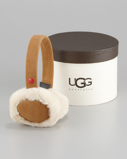 UGG Australia Classic Boxed  Earmuffs, Light Brown