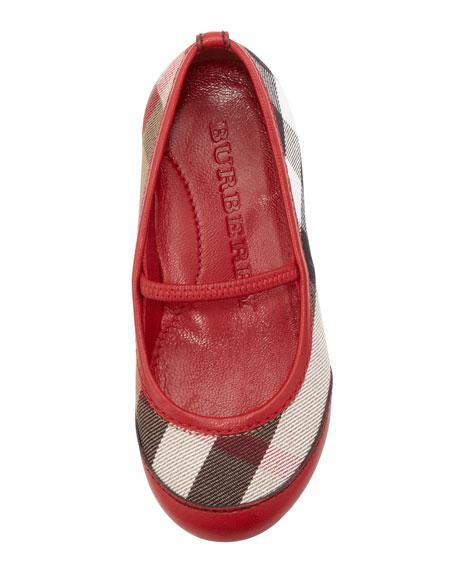 Infant Ballerina Flats, Red
