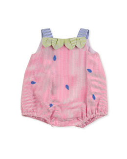 Florence Eiseman Strawberry Creek Baby Romper, Multi, 3-9 Months