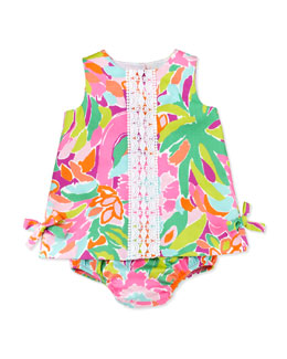 Lilly Pulitzer Baby Lilly Shift Dress in Multi Lulu, 3m-24m