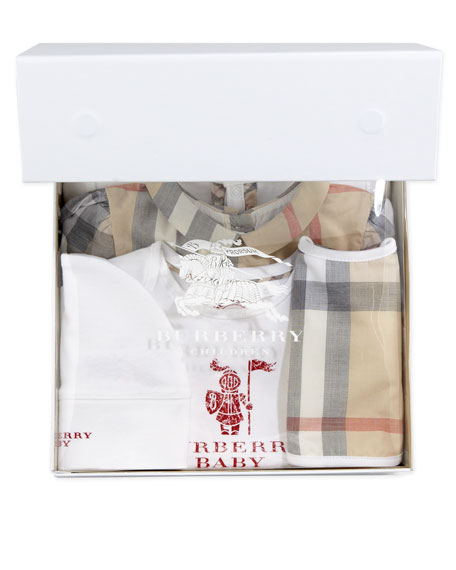 Burberry Maxime Five-Piece Newborn Gift Set