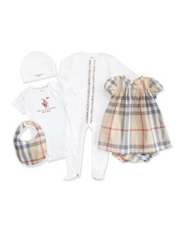 Burberry Five-Piece Newborn Gift Set