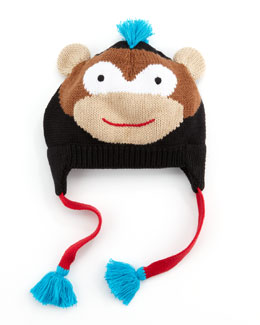 Zubels Boys' Rock Monkey Hat, Black