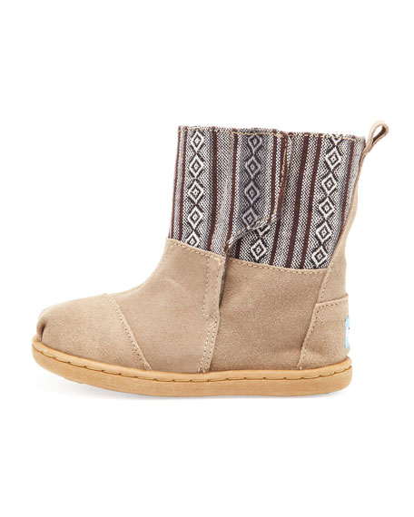 Tiny Nepal Boot, Brown Pattern