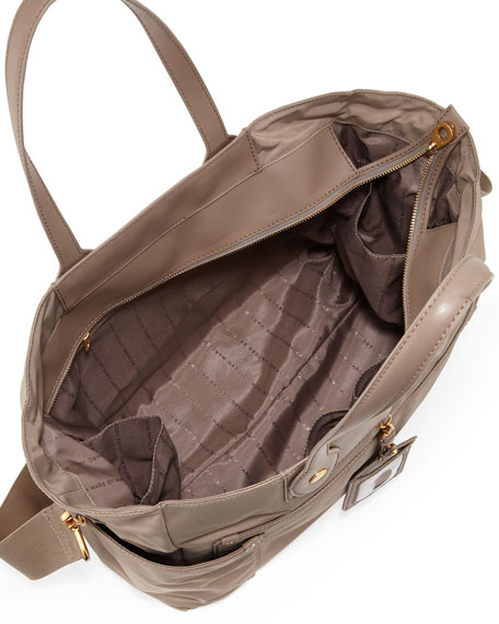 Preppy Nylon Eliz-A-Baby Diaper Bag Light