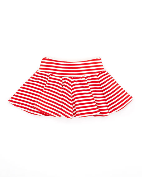 I Love Santa Shirt & Skirt Set, Red/White, 12-24M
