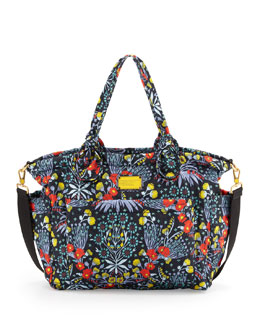MARC by Marc Jacobs Eliz-A-Baby Pretty Nylon Maddy Diaper Bag, Floral