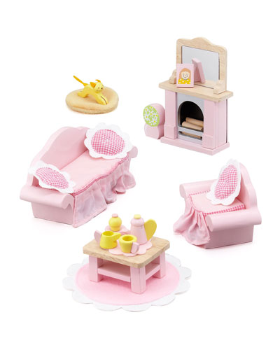 "Le Toy Van ""Rosebud"" Sitting Room Dollhouse Furniture"