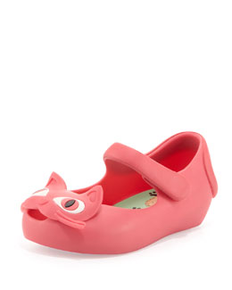 Melissa Shoes Mini Ultragirl II Jelly Mary Jane, Pink