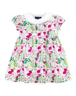 Oscar de la Renta Baby Evora Double-Breasted Dress, 12-24M