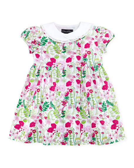 Baby Evora Double-Breasted Dress, 12-24M