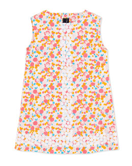 Oscar de la Renta Cascais Floral-Print Shift Dress