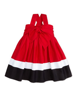 Helena Red, White, and Blue Sun Dress, 2T-3T