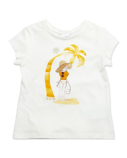 Chloe Chloe Girl Jersey Tee, Sizes 6-10