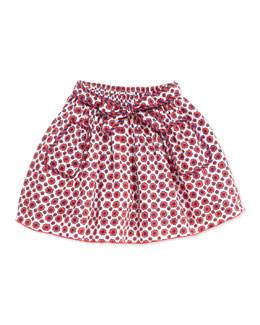 Little Marc Jacobs Floral-Print Woven Skirt, Girls' 6-10