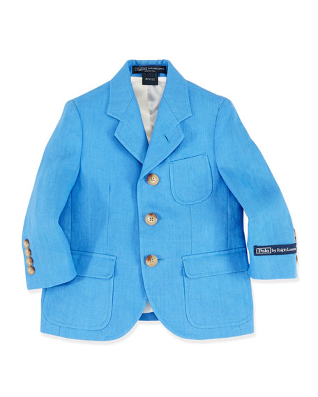 Boys' Princeton Linen Jacket, Sizes 4-7