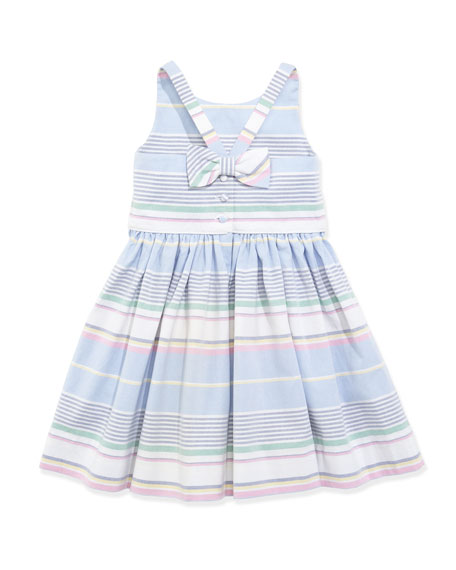 Little Run On Oxford Dress, 2T-3T