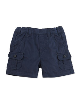 Tartine et Chocolat Cotton Cargo Shorts, Navy, Infant Boys' 1M-18M
