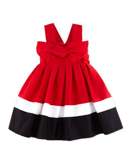Helena Red, White, and Blue Sundress, 12-24 Months