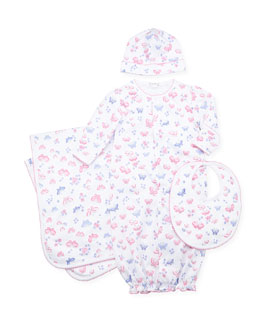 Kissy Kissy Butterfly Dreams Hat, Pink