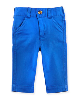 Andy & Evan Oh-What-A-Twill Dress Pants, Cobalt Blue, 3-24 Months