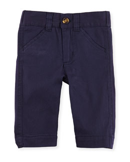 Andy & Evan Oh-What-A-Twill: Dress Pants, Navy, 3-24 Months