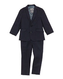 Appaman Mod Suit Jacket and Pants, Navy, Boys' 2T-10