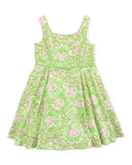 Lilly Pulitzer Mini Gosling Printed Dress, Multi, Sizes 2-10
