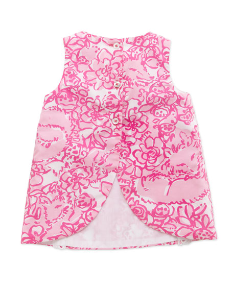 Lilly Pulitzer Baby Lilly Shift Dress Pink 3 24 Months