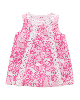 Lilly Pulitzer Baby Lilly Shift Dress, Pink, 3-24 Months