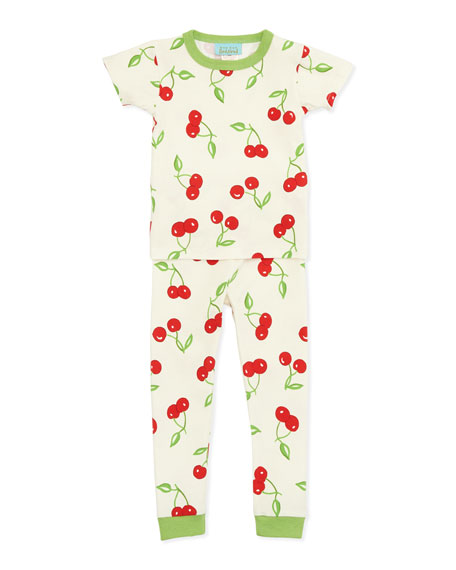 Cherry Pick Printed Pajamas, Sizes 2T-8