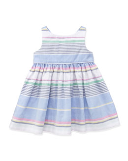 Ralph Lauren Childrenswear Little Run On Oxford Dress, 9-24 Months