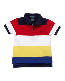 Ralph Lauren Childrenswear Lifesaver Mesh Polo, 9-24 Months