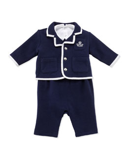 Ralph Lauren Childrenswear Infant Boys' 3-Piece Knit Set, 3-9 Months