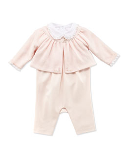 Ralph Lauren Childrenswear Infant Girls' 3-Piece Knit Set, 3-9 Months