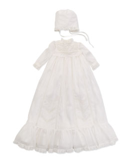 Ralph Lauren Childrenswear Infant Girls' Christening /Baptism Set, 3-9 Months