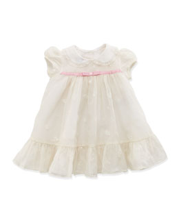 Ralph Lauren Childrenswear Baby Embroidered Organza Dress, 3-12 Months