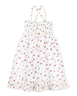Busy Bees Jasmine Smocked Maxi Dress, 2Y-10Y