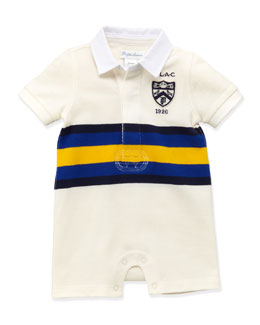 Ralph Lauren Childrenswear Stripe Rugby Shortall, 3-24 Months