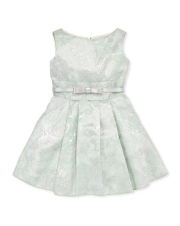 Zoe Peppermint Brocade Party Dress, Sizes 8-10