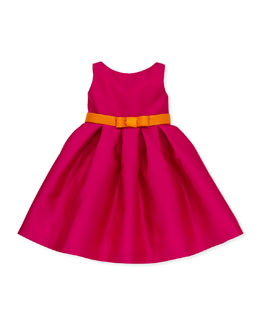 Zoe Elle Box-Pleat Party Dress, Sizes 2-6