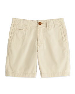 Burberry Boys' Chino Shorts, Tan, 4Y-10Y