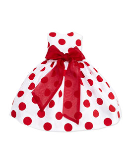 Susanne Lively Large-Polka-Dot Party Dress, Toddler Girls' 2T-3T
