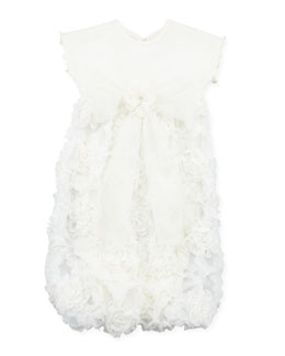Cach Cach Cream Pie Infant Sac Gown, 0-3 Months